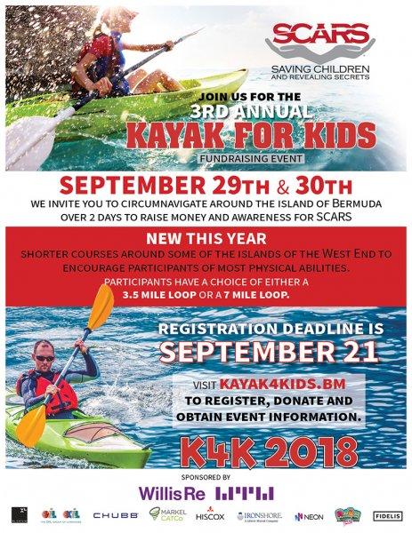 Kayak for Kids 2018
