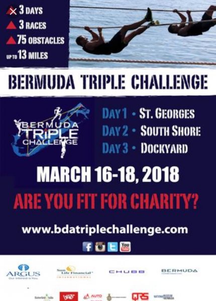 March 16-18, Bermuda Triple Challenge