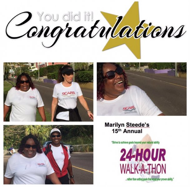April 7-8, Marilyn Steede 24hour Walk