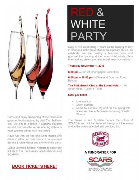 Red and White Night Night – November 1st.