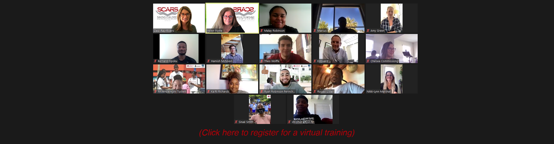 Register for a virtual training